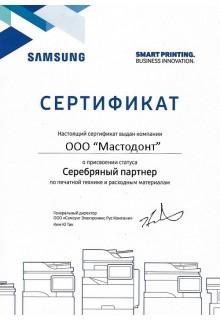 Samsung - серебряный партнер