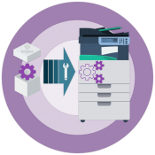 Установка ксерографического модуля Xerox 113R00673 / 113R00674...