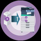 Установка восстановительного комплекта Xerox 108R00718...