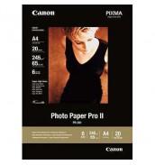 PR-201 Бумага Canon Photo Paper Pro II, професиональная высококачественная глянцевая фотобумага  A4,