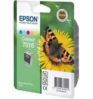 T016401 Картридж для Epson Stylus Photo 2000P цветной  (253 стр.)