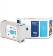 C5061A HP 90 Картридж голубой (Cyan) для HP Designjet 4000/4020/4500/4520, (400 ml)