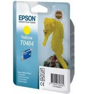 T0484 / T048440 Картридж Epson Stylus Photo Y R200/ R220/ R300/ R300ME/ R320/ R340, RX500/ RX600/ RX620/ RX640 Yellow (430 стр.)