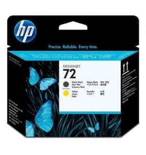C9384A Печатающая головка №72 матовый черный и желтая  для плоттеров HP DesignJet T610/T620/T770/T790/ T795T1100/T1120/T1200/T1300/T2300
