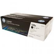 CE320AD HP 128A Двойная упаковка черных...