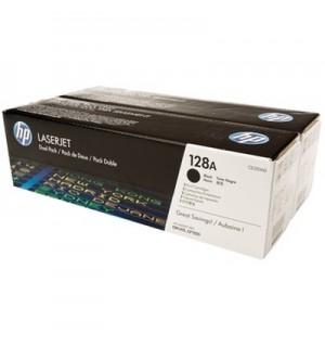CE320AD HP 128A Двойная упаковка черных картриджей для HP LJ для PRO CM1415fn; P1525N/CP1520 /CP1525NW (2*2000стр)