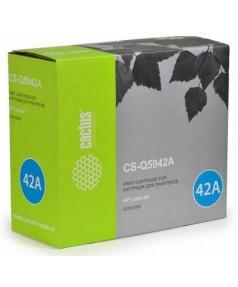 Q5942A совместимый Картридж Cactus CS-Q5942A для HP LJ 4250/ 4350 Black (10000 стр.)