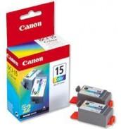 BCI-15Color [8191A002] Чернильницы для i 70/ i80 Color (100 стр. при 7% зап.) 2шт.