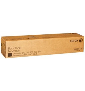 006R01449 Тонер-картридж черный для XEROX DC 240/250/242/252 WC 7655/7665 (2 тубы по 30000 стр.)