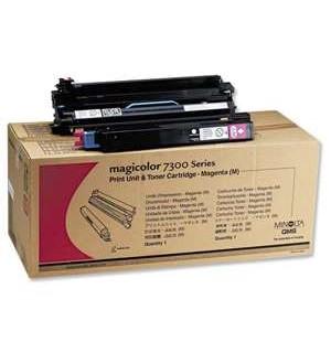 1710530-003 (8938135) Тонер картридж для принтера Konica Minolta MagiColor 7300 красный (magenta), о