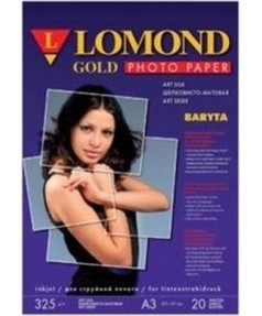 А3+ односторонняя Satin Gold Baryta Super Premium Inkjet Paper,   325 г/м2  [1100203]