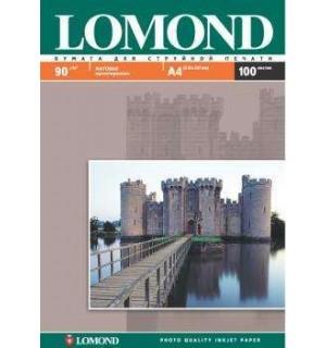 090 Бумага LOMOND A4 INC JET 90 г/ м2 100 л. матовая односторонняя [0102001]