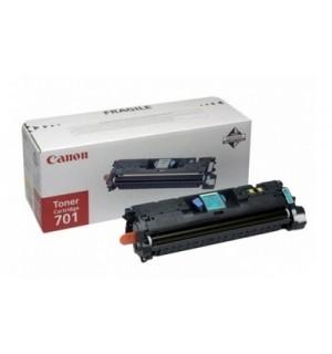 Canon Cartridge 701C [9286A003] Картридж для Canon Laser Shot LBP5200, LaserBase MF8180C (2000 стр.) синий
