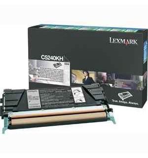 C5240KH Lexmark тонер картридж черный для C524/ C532/ C534 (8000 стр.)