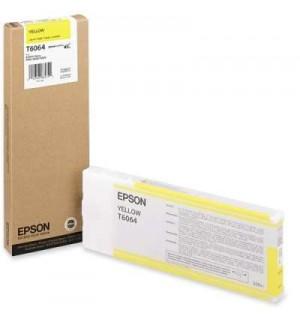 T6064 / T606400 Картридж для Epson Stylus Pro 4800/ 4880, Yellow (220мл.)