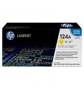 Уцененный желтый картридж Q6002A HP 124А для HP Color LJ