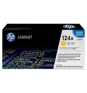 Уцененный желтый картридж Q6002A №124А для HP Color LJ