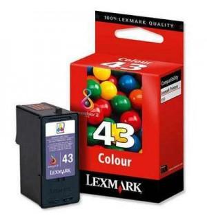 18Y0143E Картридж №43 Color для Lexmark P350/ X4850/ X6570/ X9350 пигментные