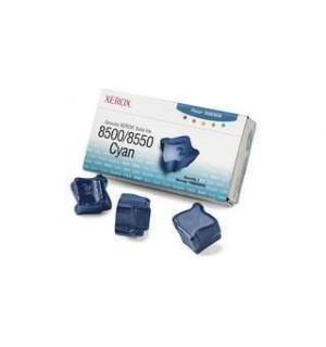 108R00669 Чернила для цветного Xerox Phaser 8500/ 8550 Cyan (3 по 1000 стр.)