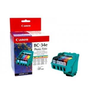 BC-34e [4612A002] Фото-картридж к  BJC 3000 / S400 голова с чернильницами BCI-3ePBK, BCI-3ePС, BCI-3ePM, BCI-3eY