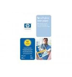 Q2417A Мягкоглянцевая фотобумага HP Soft Gloss А4 для лазерных принтеров 100 г/ м2 (250л.)