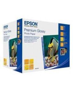 S041826 Бумага Epson Premium Glossy Photo Paper (10х15см)  255г/м2  500л
