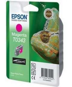 УЦЕНЕННЫЙ T034340 Картридж для Epson Stylus Photo 2100 Magenta (440стр.)