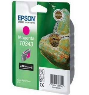 УЦЕНЕННЫЙ T034340 Картридж для Epson Stylus Photo 2100 Magenta (440стр.)