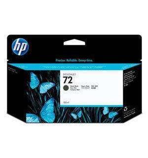 C9403A HP 72 Картридж черными матовыми чернилами для плоттеров HP DesignJet T610/ 620/ 770/ 790/ T795/ 1100/ T1120/ 1200/ T1300/ 2300 (130 ml)