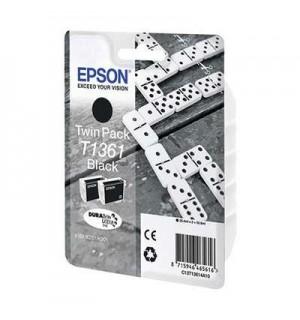 T1361 Набор из 2-х картриджей для EPSON K101/ K201/ K301 Black
