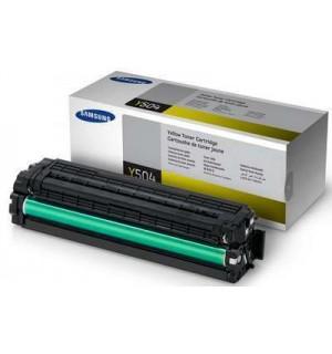 CLT-Y504S Картридж Samsung для CLX-4195FN/ 4195FW, CLP-415N/ 415NW/ Xpress C1810/C1860, Yellow (1800