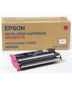 S050035 (C13S050035) Тонер-картридж Epson AcuLaser C1000/ C2000 красн.