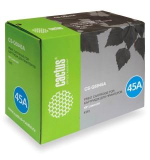 Q5945A совместимый Картридж Cactus CS-Q5945A для HP LJ 4345/ 4345MFP (18000 стр.)