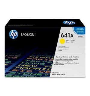 Уцененный желтый картридж HP C9722A №641A для HP Color LJ