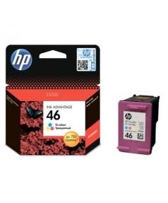 CZ638AE HP 46 Картридж цветной для Deskjet IA 2520hc/ 2020hc (750 стр.)