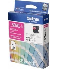 LC-565XLM Картридж для Brother MFCJ2510, Magenta (1200 стр)
