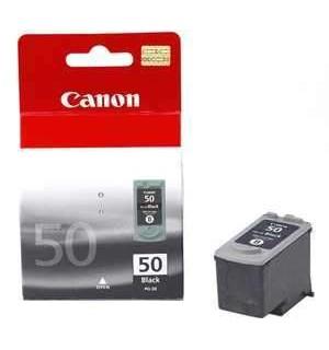 PG-50 [0616B001] Черный картридж большой к Canon Pixma Canon Pixma MP150/ MP160/ MP170/ MP180/ MP450/ MP460; iP2200, MX300, MX310, JX200, JX500 (стр.)