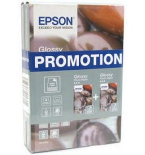 S042085 =S042045 * 2 Бумага Epson Glossy Photo Paper, глянцевая бумага Epson, 225 г/ м2 (10x15 см.)
