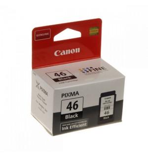 PG-46 [9059B001] Черный Canon картридж для Pixma  E404, E464 (400 стр.)