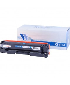 CF411A Картридж NV Print голубой, совместимый (2300стр.)