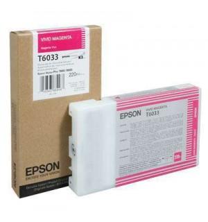 T6033 / T603300 Картридж для Epson Stylus Pro 7880/ 9880, Vivid Magenta (220 мл.)