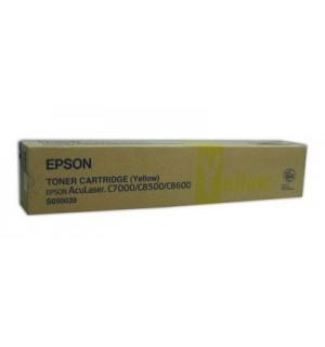 S050039 Тонер-картридж для Epson AcuLaser C8500/ 8600 Yellow (6000стр.)