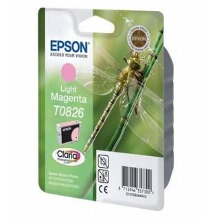 T08264A совместимый картридж для Epson Stylus Photo R270/ R290/ R390/ Photo 1410, RX590. Light-Ma
