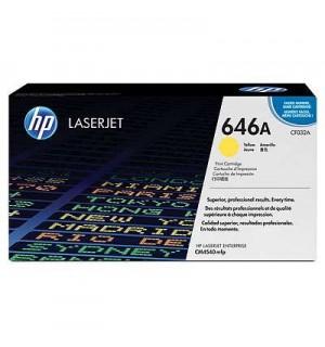 CF032A/ CF032AC HP 646A Картридж желтый для HP LaserJet Pro CLJ CM4540 MFP (12500стр)