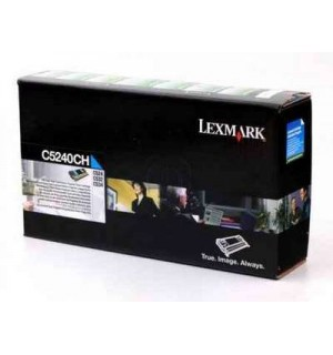 C5240CH Lexmark Return Program тонер картридж синий для C524/ C532/ C534 (5000 стр.)
