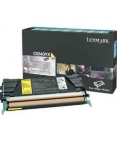 C5340YX Lexmark тонер картридж желтый повышенного объема для C534 (7000 стр.)