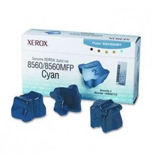 108R00764 Чернила для цветного Xerox Phaser 8560 Cyan (3 по 1000 стр.)