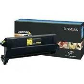 C9202YH Lexmark тонер картридж желтый дл...