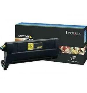 C9202YH Lexmark тонер картридж желтый для С920