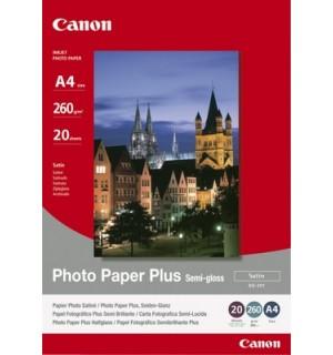 SG-201 10х15 см Бумага Canon Photo Paper Plus SemiGloss, полуглянцевая, 260г/ м2 (50л.) 1686B015